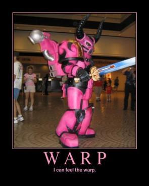 Warp Motivational Poster