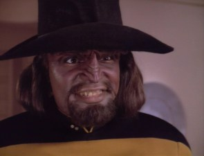 Worf In A Hat