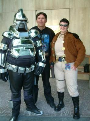 Battlestar Galactica Cosplayers