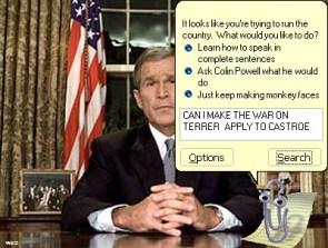 Clippy's Advice for Bush