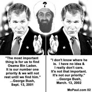 Bush Doesn't Care About Bin Laden