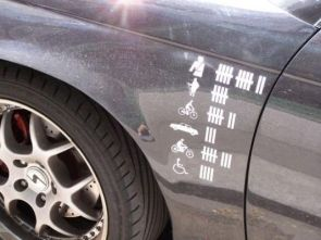 Car Kill Point Decals