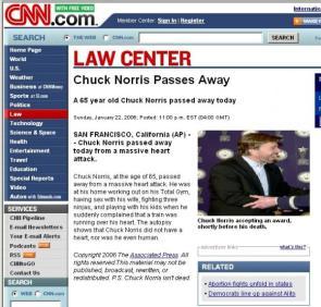 Chuck Norris RIP