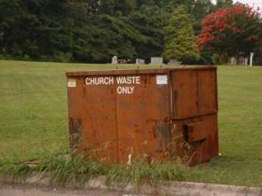 Church Waste Only