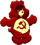 Commie Care Bear