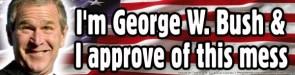 George W. Bush's Mess Approval