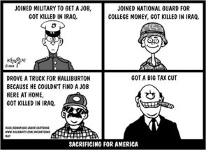 Sacrificing For America