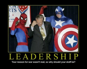 Rumsfield Leadership Motivational Poster