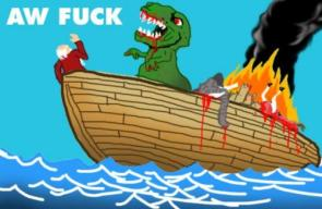 Would you put a T-Rex on YOUR ark?