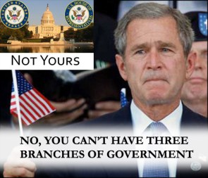 Not Yours: GWB Edition