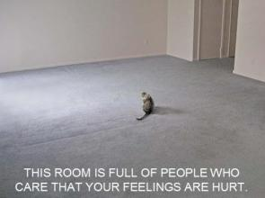 Room Full of People that care about your feelings