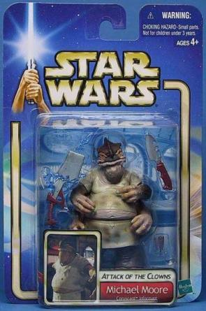 Star Wars Attack Of The Clones Michael Moore Figurine