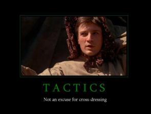 Tactics Motivational Poster