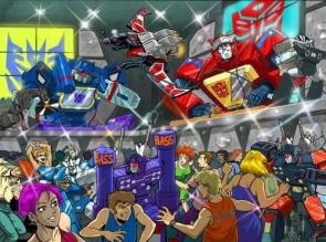 Transformers Audio Party Wallpaper