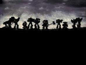 Warhammer 40k Silhouette Wallpaper