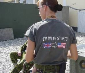 I'm With Stupid (UK is with US)