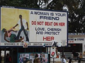 A Woman Is Your Friend: Don't Beat On Her