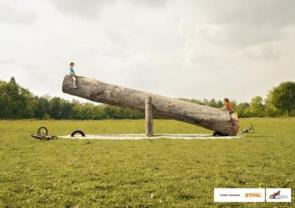 Think Bigger : Stihl Advertisement