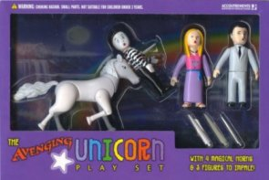 Avenging Unicorn Play Set