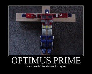 Optimus Prime Died For Your Sins
