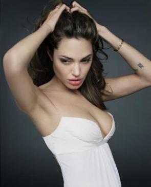 Angelina Jolie- White Top