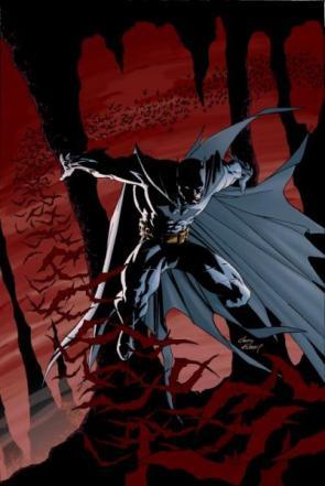 Batman By Red Bats