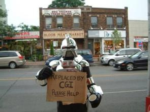 Cylon: Replaced by CGI, Please Help!