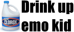 Drink Up Emo Kid