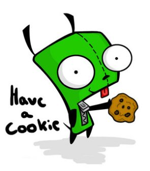Gir Says Have A Cookie