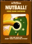 Activision Nutball Video Game Cartridge