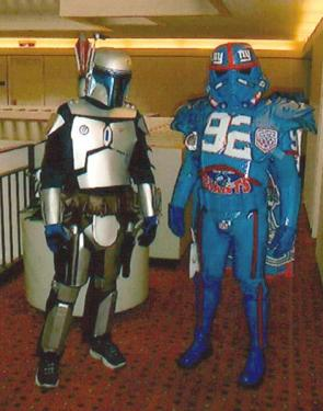 Boba Fett Meets NY Giants Fett