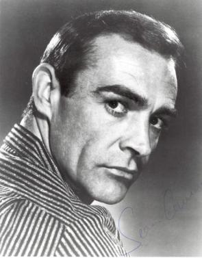 Sean Connery Signed Portrait