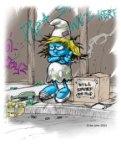Crackwhore Smurfette