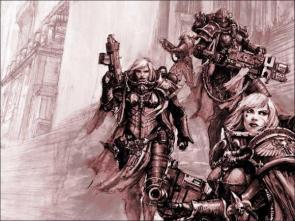 Warhammer 40k Warsisters Wallpaper