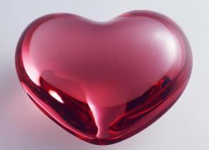 Glass Heart Wallpaper