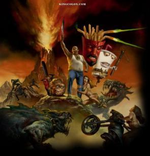 Aqua Teen Hunger Force Promotional Poster