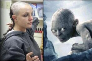Britney Spears = Gollum