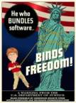 He who bundles software BINDS FREEDOM
