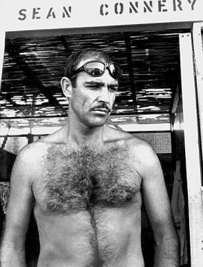 Sean Connery's Sexy Mustache
