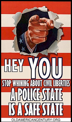 Police State = Happy State
