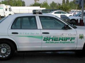 Kara County Sheriff Car Decals