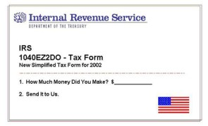 Tax Form 1040EZ 2DO