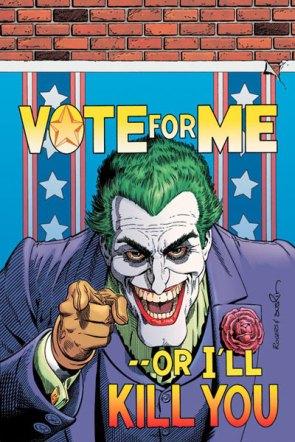 Joker Vote For Me Poster