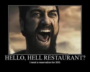 300 – Hello, Hell Restaurant?