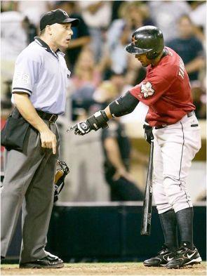 Baseball Finger Pointing