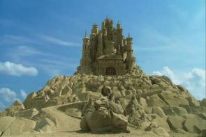 Sand Castle In The Sky