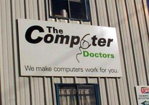 Computer Doctors Sign