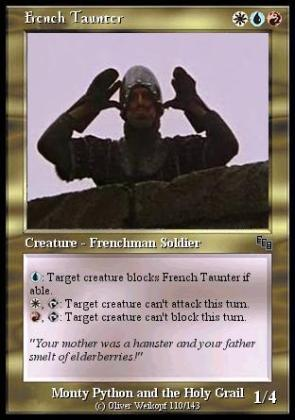 French Taunter CCG Card