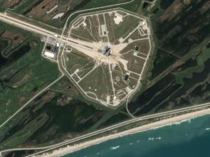 Satellite Picture of Kennedy Space Center