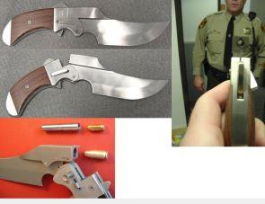 Pistol Knife